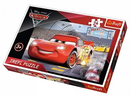PUZZLE DISNEY CARS 3 MISTR MAXI 24 dílků