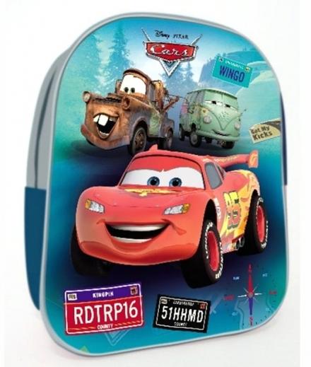PŘEDŠKOLNÍ BATOH 3D DISNEY CARS 3