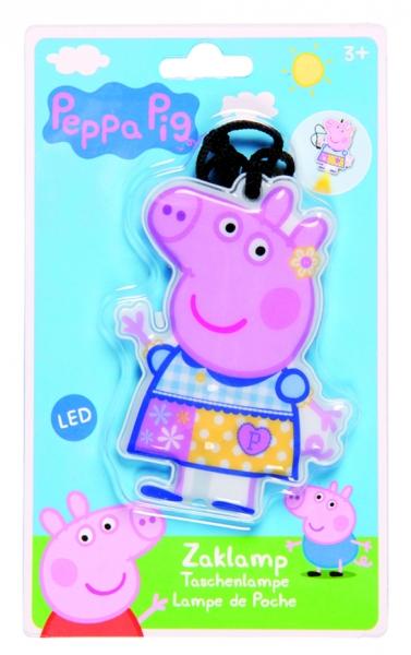 SVÍTÍCÍ LED KLÍČENKA PRASÁTKO PEPPA PIG