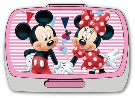 SVAČINOVÝ BOX MICKEY A MINNIE MOUSE