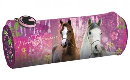 KULATÝ PENÁL KONĚ I LOVE HORSES