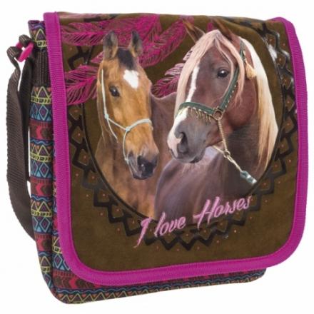 TAŠKA PŘES RAMENO S KLOPOU KONĚ INDIAN HORSE