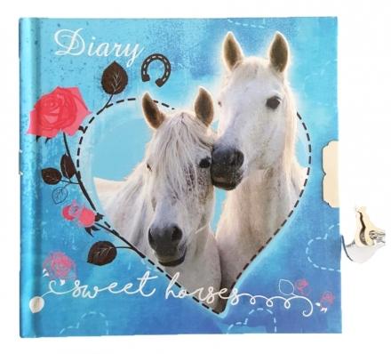 DENÍK SE ZÁMKEM KONĚ SWEET HORSES