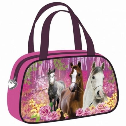 DÍVČÍ TAŠKA - KABELKA KONĚ I LOVE HORSES