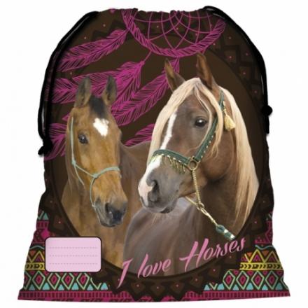 SÁČEK NA PŘEZŮVKY, TĚLOCVIK KONĚ INDIAN HORSE