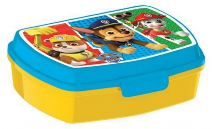 SVAČINOVÝ BOX PAW PATROL COLOURS