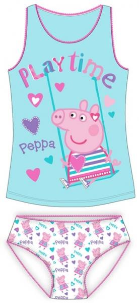 DÍVČÍ SPODNÍ PRÁDLO PRASÁTKO PEPPA PIG modré