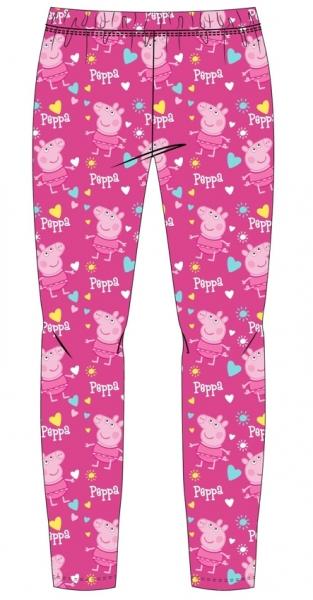 DÍVČÍ LEGÍNY PRASÁTKO PEPPA PIG růžové
