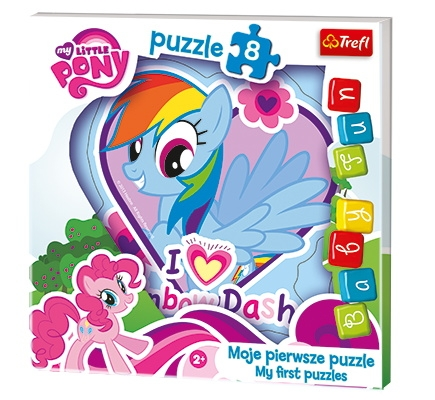 PUZZLE BABY FUN MY LITTLE PONY 8 DÍLKŮ