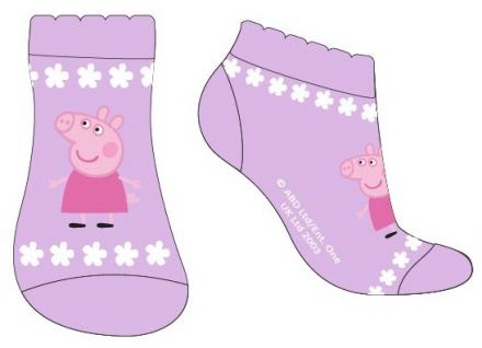DÍVČÍ KOTNÍČKOVÉ PONOŽKY PRASÁTKO PEPPA PIG…
