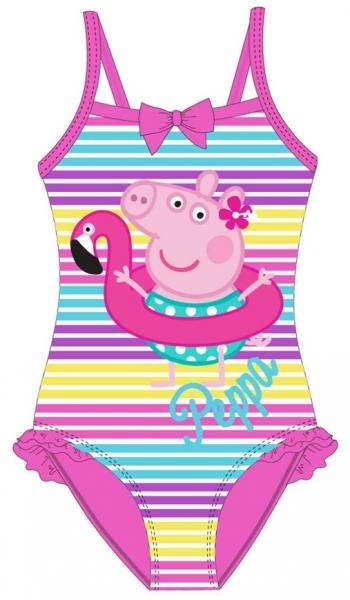 DÍVČÍ JEDNODÍLNÉ PLAVKY PRASÁTKO PEPPA PIG