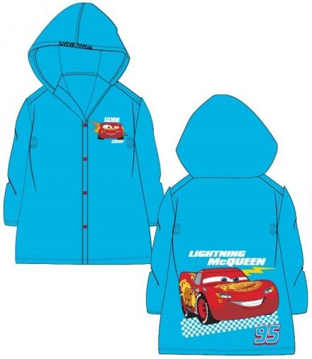 CHLAPECKÁ PLÁŠTĚNKA DISNEY CARS modrá