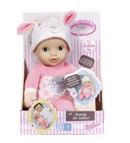 ZAPF BABY ANNABELL SWEETIE FOR BABIES 30cm