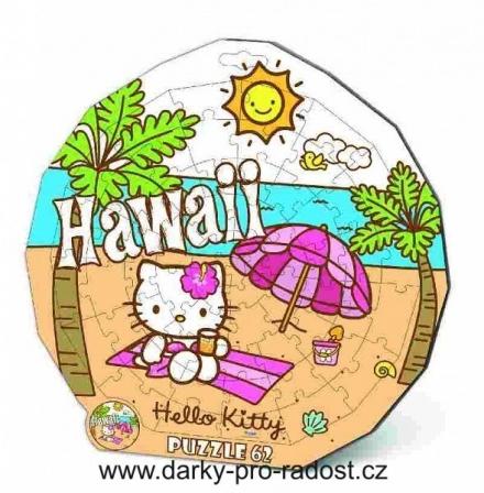DESKOVÉ PUZZLE HELLO KITTY HAWAII