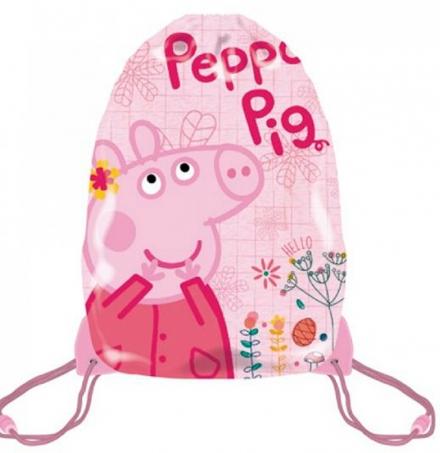 SÁČEK NA PŘEZŮVKY, TĚLOCVIK PRASÁTKO PEPPA PIG