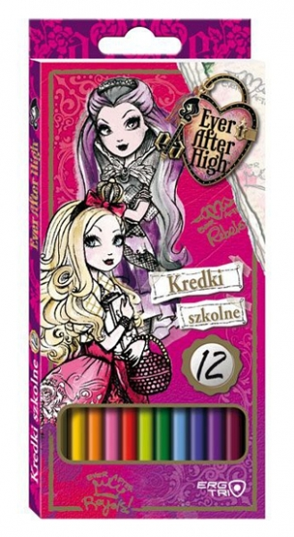 TROJHRANNÉ PASTELKY EVER AFTER HIGH