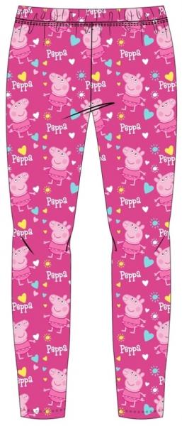 DÍVČÍ LEGÍNY PRASÁTKO PEPPA PIG PINK