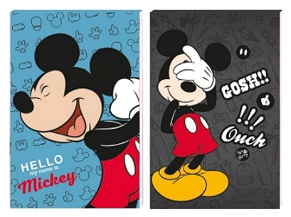 BLOČEK A6 DISNEY MICKEY MOUSE