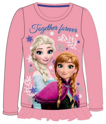 DÍVČÍ TRIČKO DISNEY FROZEN TOGETHER FOREVER