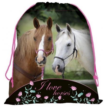 SÁČEK NA PŘEZŮVKY, TĚLOCVIK HORSE KONĚ BLACK