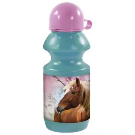 SPORTOVNÍ LÁHEV NA PITÍ KONĚ I LOVE HORSES 330ml