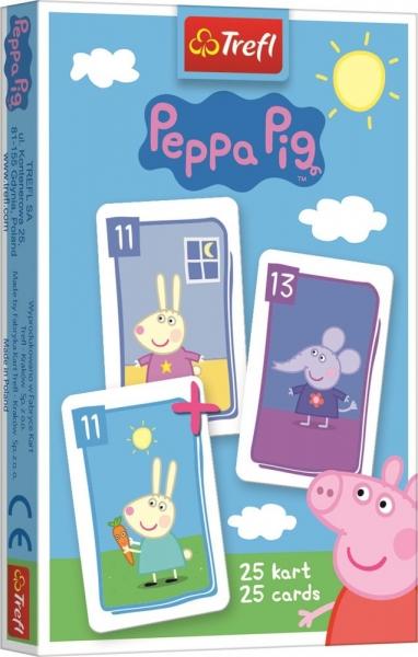 HRACÍ KARTY ČERNÝ PETR PRASÁTKO PEPPA PIG
