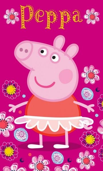 DĚTSKÝ RUČNÍK PRASÁTKO PEPPA PIG