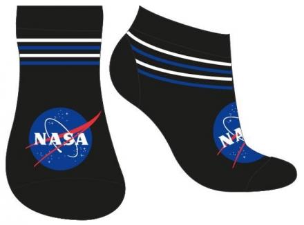 CHLAPECKÉ KOTNÍČKOVÉ PONOŽKY NASA černé