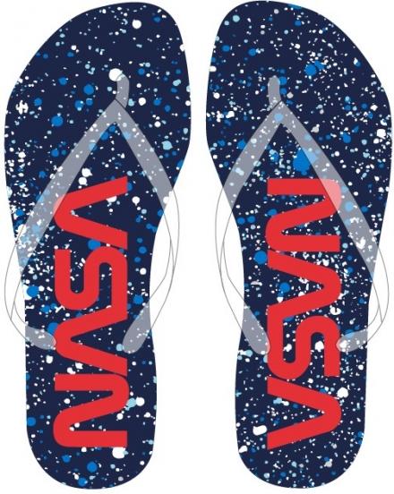 DÍVČÍ LETNÍ PANTOFLE - ŽABKY NASA