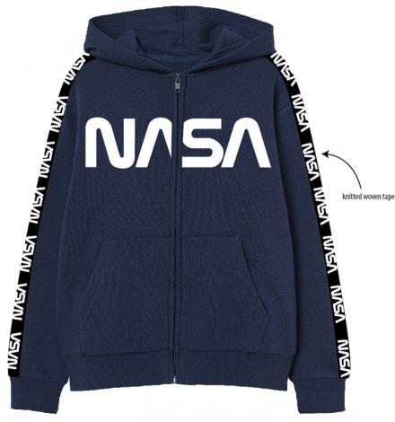 CHLAPECKÁ MIKINA S KAPUCÍ NASA