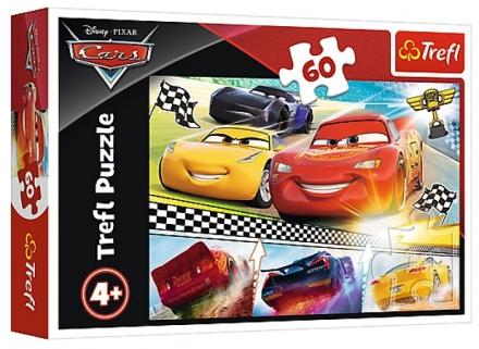PUZZLE DISNEY CARS 3 ŽIVOTNÍ ZÁVOD 60 dílků