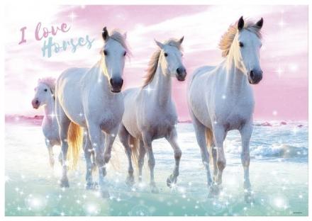 PODLOŽKA NA STŮL KONĚ I LOVE HORSES