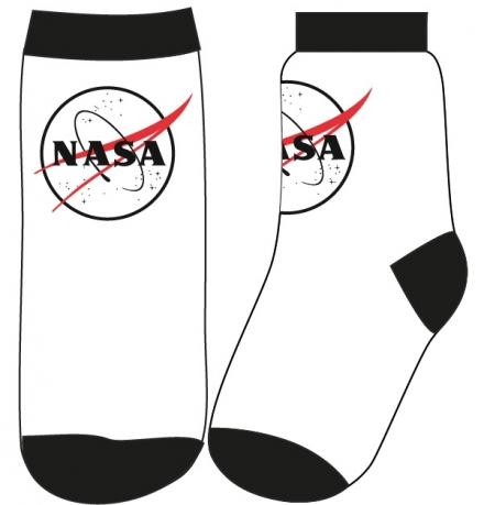 CHLAPECKÉ PONOŽKY NASA bílé