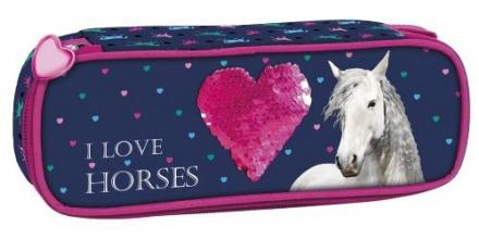 ŠKOLNÍ POUZDRO - ETUE HORSE KONĚ