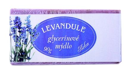 GLYCERÍNOVÉ MÝDLO LEVANDULE 90g