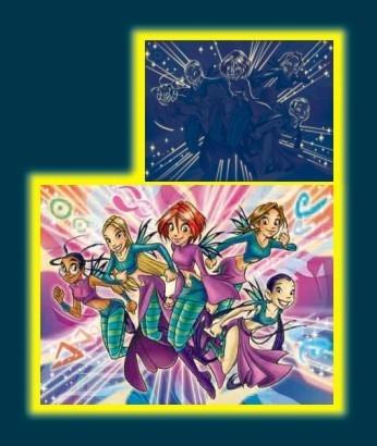 PUZZLE MAGICKÉ NEON WITCH - STARLINE 500 DÍLKŮ
