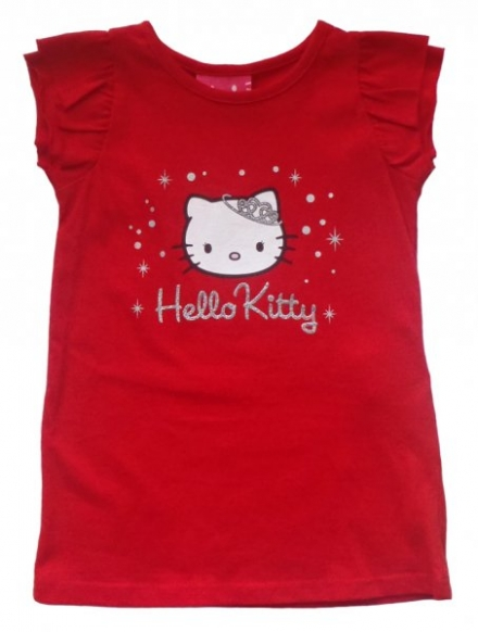 DÍVČÍ TRIČKO HELLO KITTY QUEEN