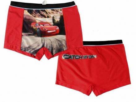 CHLAPECKÉ PLAVKY BOXERKY CARS červené